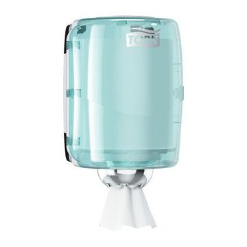 Afbeelding van Tork M2 Poetsrol Dispenser Midi Turquoise