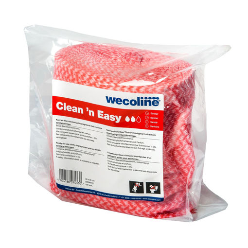 Wecoline Clean 'N Easy Disposable Sani Navulling 3x150 Stuks