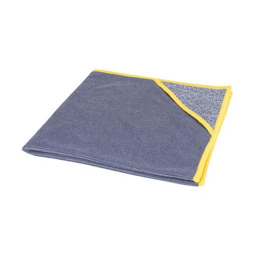 Allure Microvezeldoek met Scrubhoek 40x40 cm Geel 10 stuks