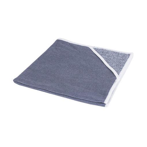 Allure Microvezeldoek met Scrubhoek 40x40 cm Wit 10 stuks