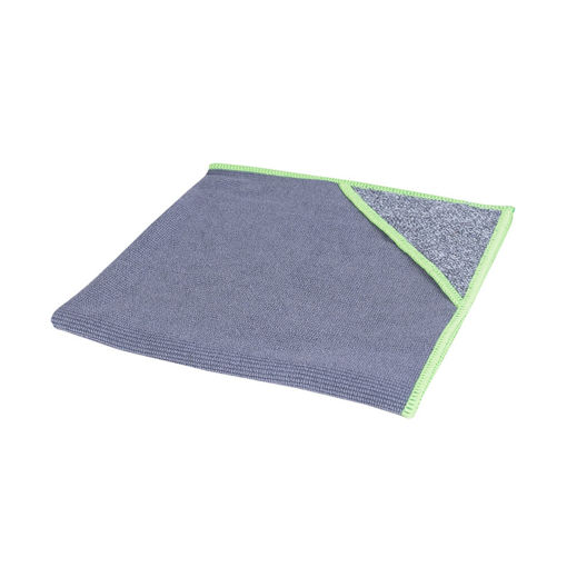 Afbeelding van Allure Microvezeldoek met Scrubhoek 40x40 cm Groen 10 stuks