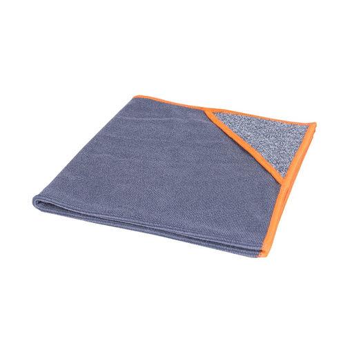 Allure Microvezeldoek met Scrubhoek 40x40 cm Oranje 10 stuks