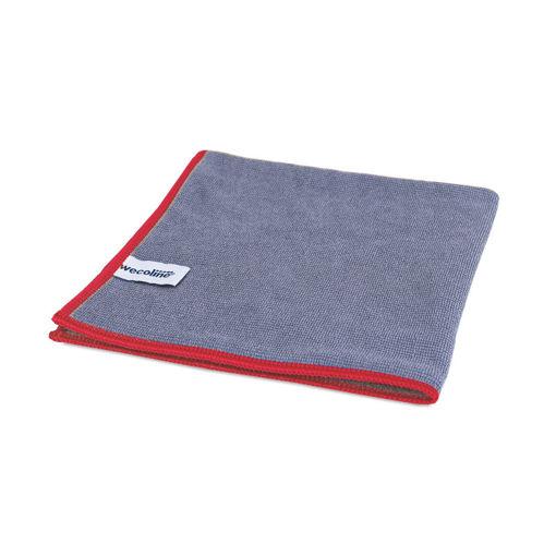 Allure Microvezeldoek 40x40 cm 55 gram Rood 10 stuks
