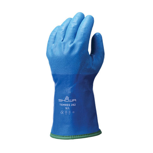Handschoen Showa Temres 282 Blauw maat L