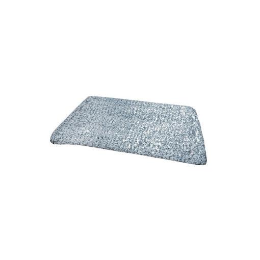 Allure Microvezel Vlakmop Scrub 28 cm Blauw