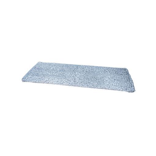 Allure Microvezel Vlakmop Scrub 45 cm Blauw