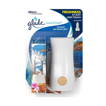 Glade Luchtverfrisser Touch&Fresh Houder Ocean Adventure
