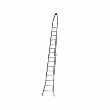 Afbeelding van Dirks Puntladder 2x8 28 cm Optrede