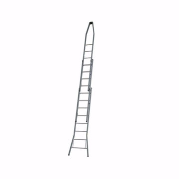 Afbeelding van Dirks Puntladder 2x9 28 cm Optrede