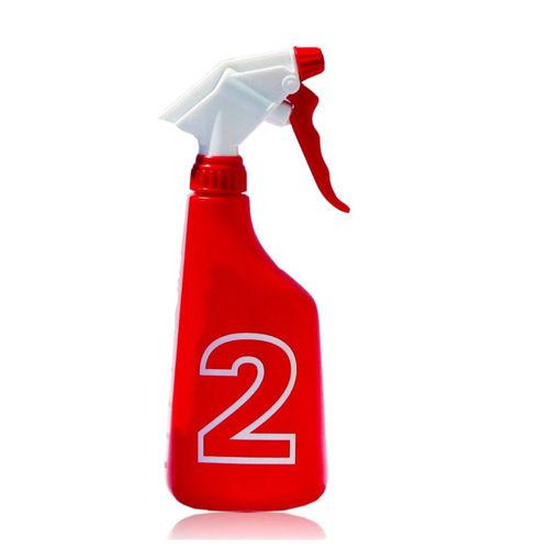 Afbeelding van Ecodos Easy Sprayflacon Sanitair Rood 650 ml