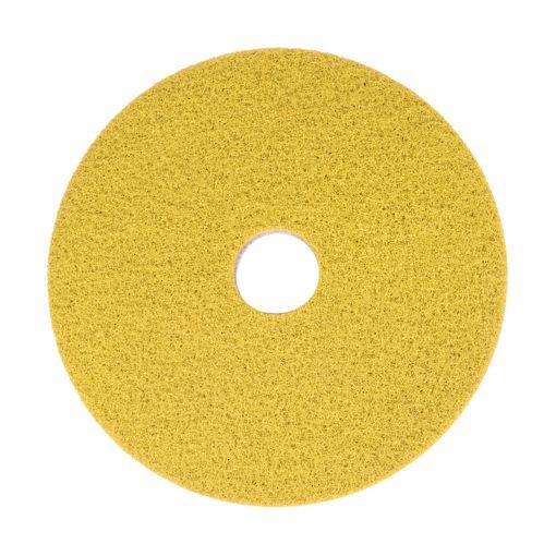 """Afbeelding van Bright n Water Cleaning Pad 17""""/43,2 cm Geel 2 stuks"""