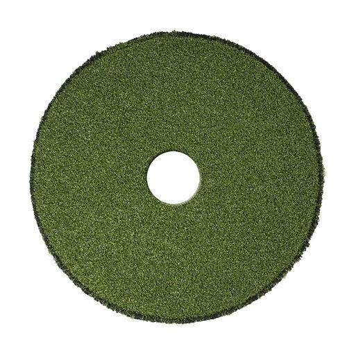 """Afbeelding van Brushpad 17""""/43,2cm Groen"""