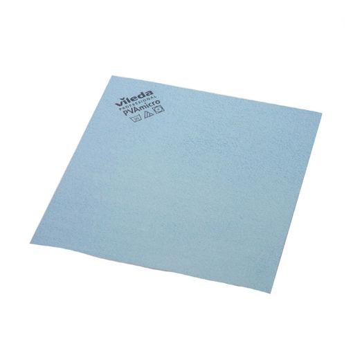 Vileda Microvezeldoek PVA 38x35 cm Blauw 5 stuks
