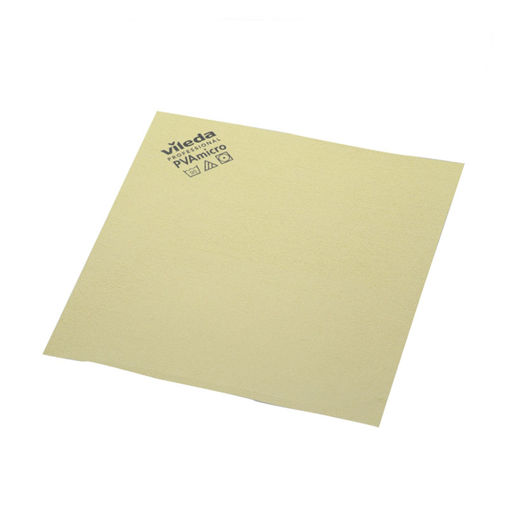 Vileda Microvezeldoek PVA 38x35 cm Geel 5 stuks
