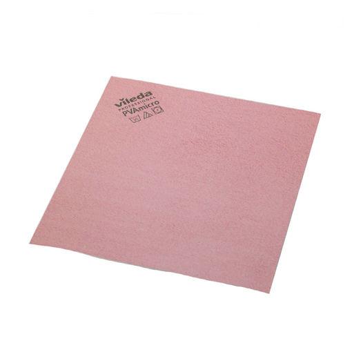 Vileda Microvezeldoek PVA 38x35 cm Rood 5 stuks