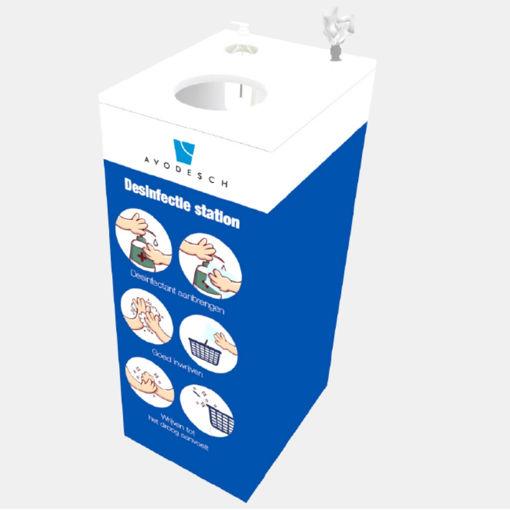 Afbeelding van Avodesch Desinfectie Reinigingsstation Compleet