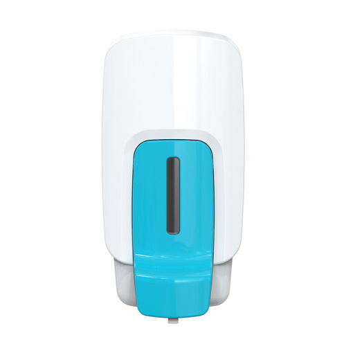 foOom Foam Soap Dispenser 1000 ml Wit/Blauw