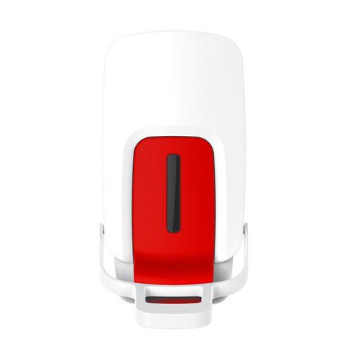 foOom Desinfectie Dispenser Elleboog 1000 ml Wit/Rood